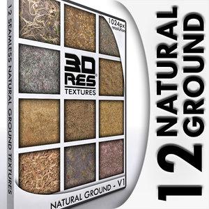 12 Natural Ground Textures