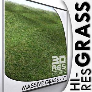 Massive Grass V1 - 6144px resolution!