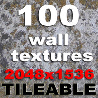 100 Wall Textures set 1 TILEABLE