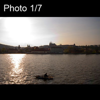 7x Prague sunset amazing city view
