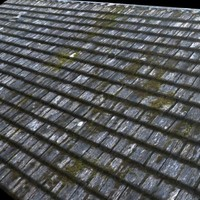 Medieval Wood Shingles ---------------------- High Resolution