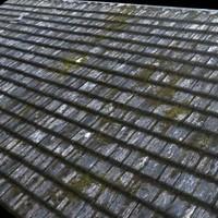 Medieval Wood Shingles ---------------------- High Resolution
