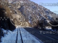 High Mountain Railway and Road