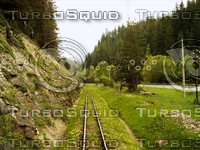 Mountain Railway Background