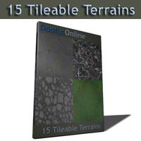Tileable Terrains - 01.zip