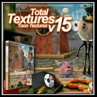 Total Textures V15:R2 - Toon Textures