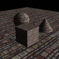 Brick texture map collection #1