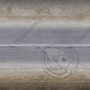 High resolution asphalt road with dirt and road-metal sidewall