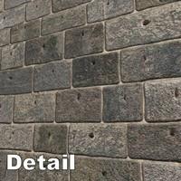 Stone Brick Wall 1024 x 1024 seamless + Bump