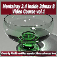 Video Workshop Mental ray 3.4 vol.1 english