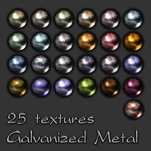 Metal Galvanized