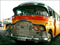 Maltese vintage bus - Deutz