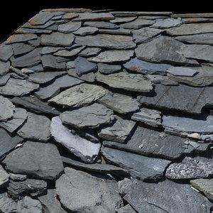 Stones Roof - High Resolution Jpg+Alpha