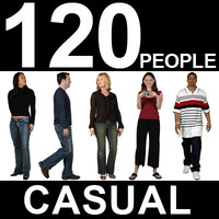 120 Casual People Textures