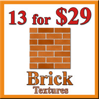13 Brick Textures for $29