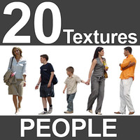 20 Casual People Textures