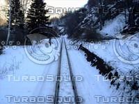 Real Scene ( Mountain Railway )
