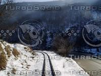 Sunny railway ( turn )