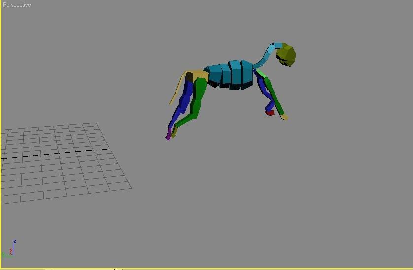3D Quadruped Motion Capture, 3D quadruped Animation, 3D Tree Files