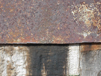Old Wood Worn and Rust