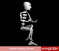 emo0002-Seated reading_Female