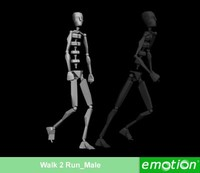 emo0003-Walk 2 Run_Male