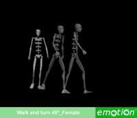 emo0003-Walk and turn 45º_Female