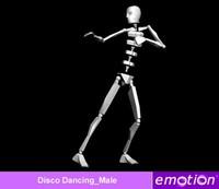 emo0004-Disco Dancing_Male