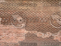 exposed patchy brickwork Texture