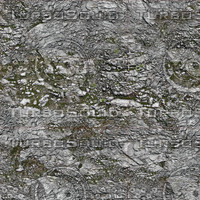 Low resolution Rocky ground with moss and grass + Bump Map