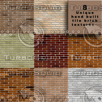 8 Urban Brick Tile Textures