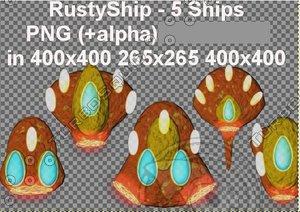 Rusty SpaceShips