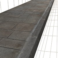 Large Paving Sidewalk  High Resolution