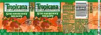 Tropicana Strawberry Melon Bottle Label