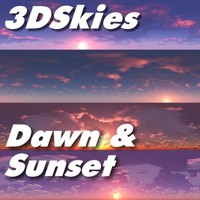 3DSkies Set 2 - Dawn & Sunset