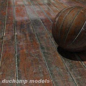 dirty wood parquet