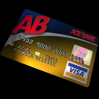 Credit Card Texture and Font