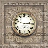 Clock Texture Map