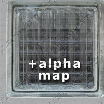GlassBlock02 + alpha (HighRes)