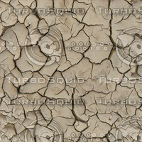 High resolution Cracked dry earth ground 2 + Normal Map