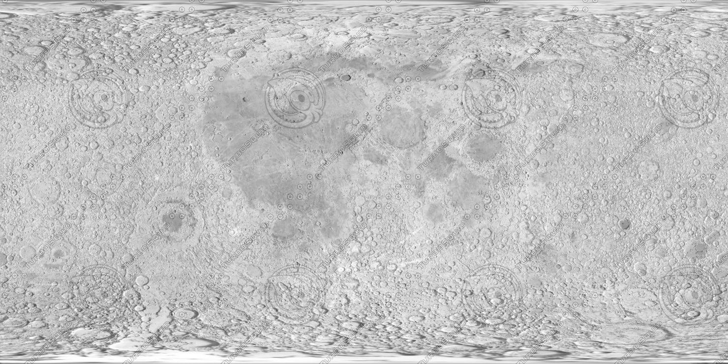 Texture LUNAR MAP MOON