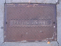 Traffic Signal grate