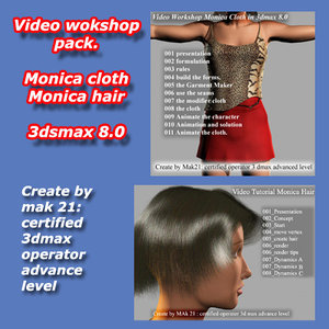 Video Workshop cloth e hair and fur Italiano