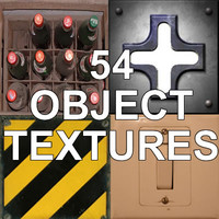 54 OBJECT TEXTURES