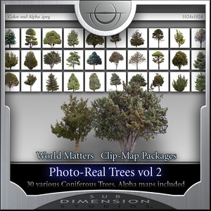 World Matters, Photo-Real Trees vol 2