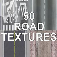 50 ROAD TEXTURES