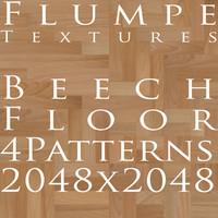 Floor - Beech - 4 Patterns