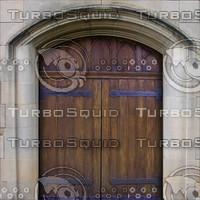 Gothic door texture