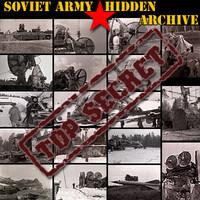 Soviet Army hidden archive