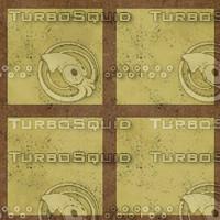 brown yellow tiles